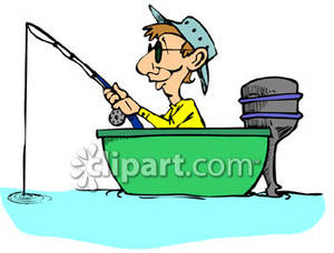man fishing in boat clipart clipart panda free clipart
