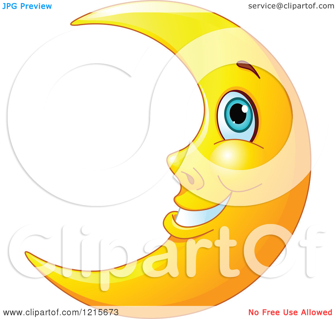 man in the moon clipart - photo #29