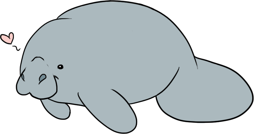 Clip Art Manatee Clip Art manatee clipart panda free images