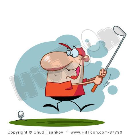 Similar Golfing Clip Art