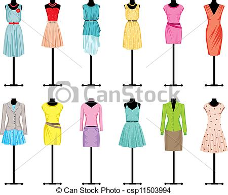 Womens Clothes Clipart | Clipart Panda - Free Clipart Images