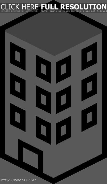 Apartment Building Clipart Black And White Clipart Panda Free