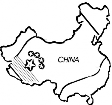 how to use matlab to draw the map ot china