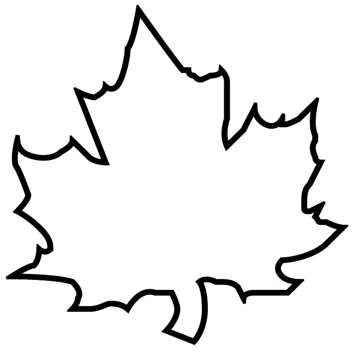 Ink inspiration maple leaf clipart panda free for Maple leaf coloring page