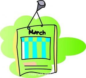 March Clip Art