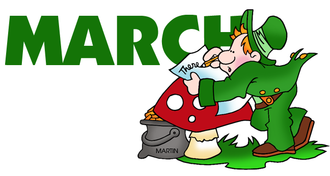 March Clip Art Free Printable | Clipart Panda - Free Clipart Images