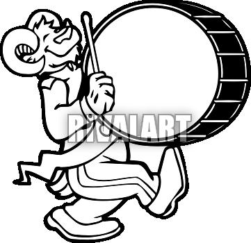 Marching Bass Drum Clip Art Clipart Panda