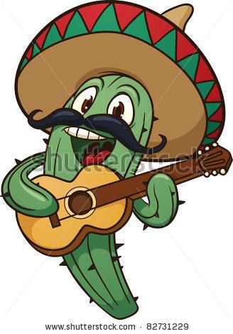 Dancing Cactus Man