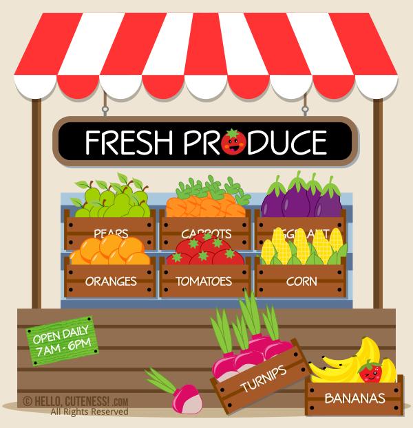 Farmers Market Clip Art | Clipart Panda - Free Clipart Images