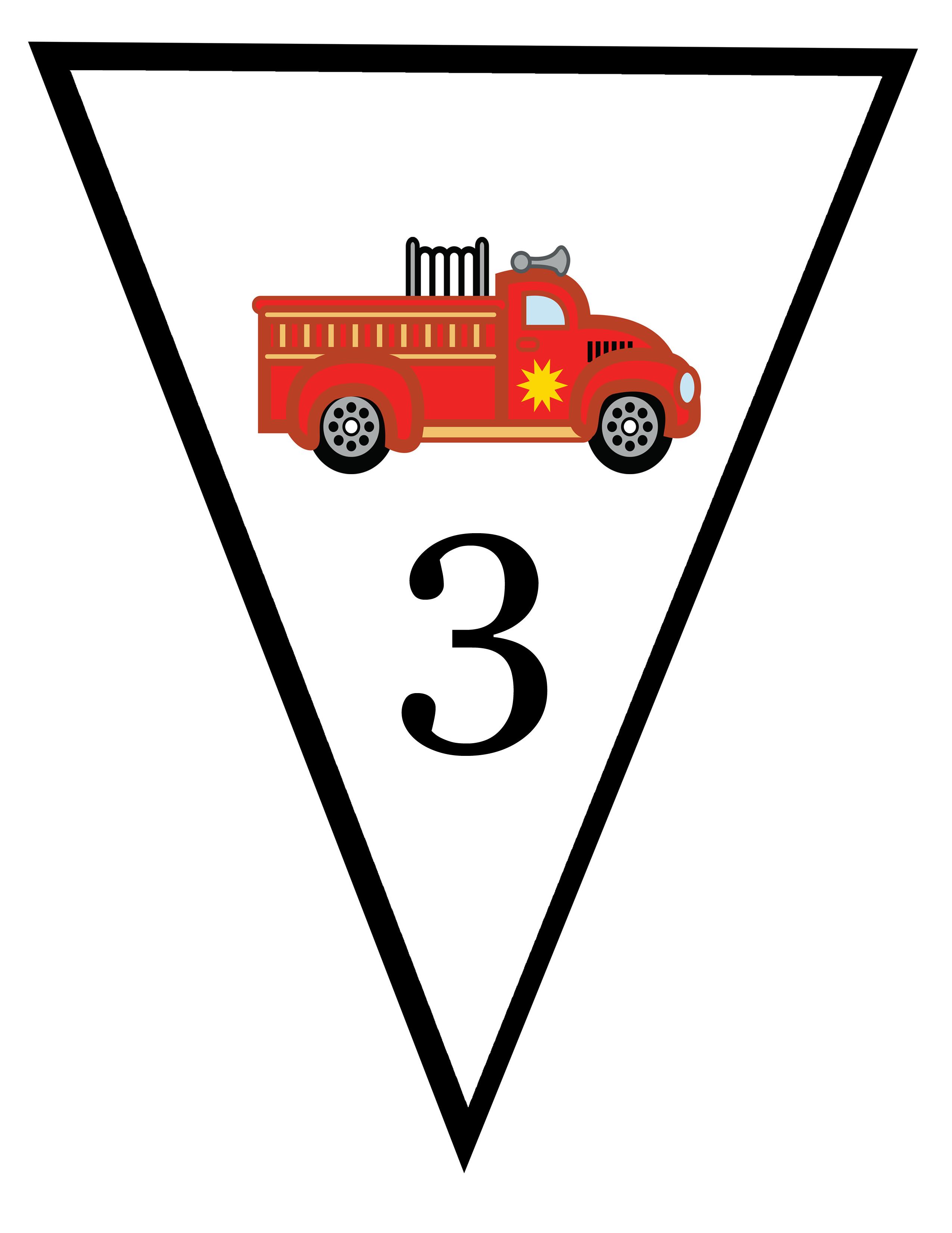 Clip Art fire truck was