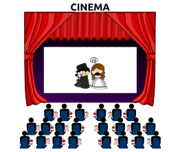 Free movie marquee clipart | Clipart Panda - Free Clipart Images