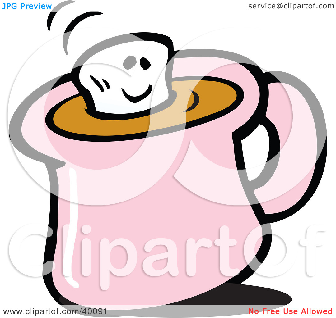 marshmallow-clipart-Clipart-Illustration-Of-A-Smiling-Marshmallow ...