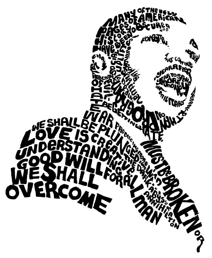 Coloring Sheet Of Martin Luther King Jr : Martin luther king jr day clipart panda free