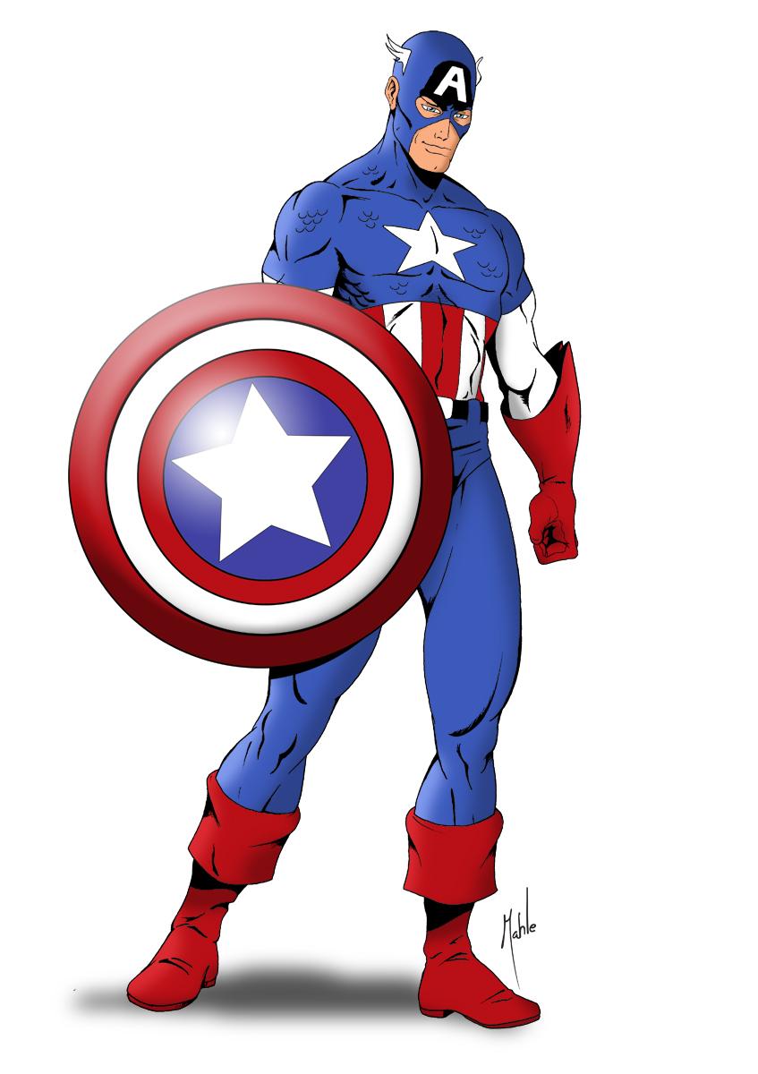 Captain America Clip Art Clipart Panda Free Clipart Images