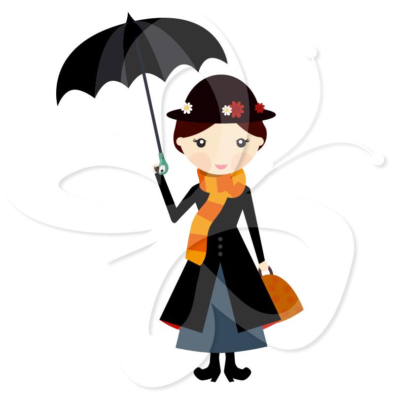 mary poppins clip art clipart panda free clipart images rh clipartpanda com mary poppins umbrella clipart mary poppins umbrella clipart