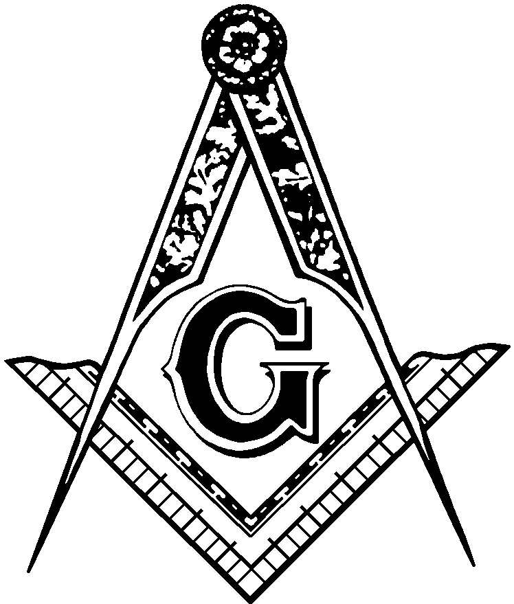 Masonic Clip Art Black And White | Clipart Panda - Free ...