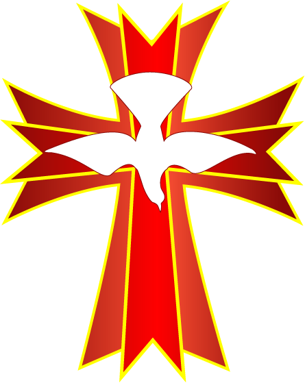 Holy Spirit Fire Clipart Holy spirit dove symbol
