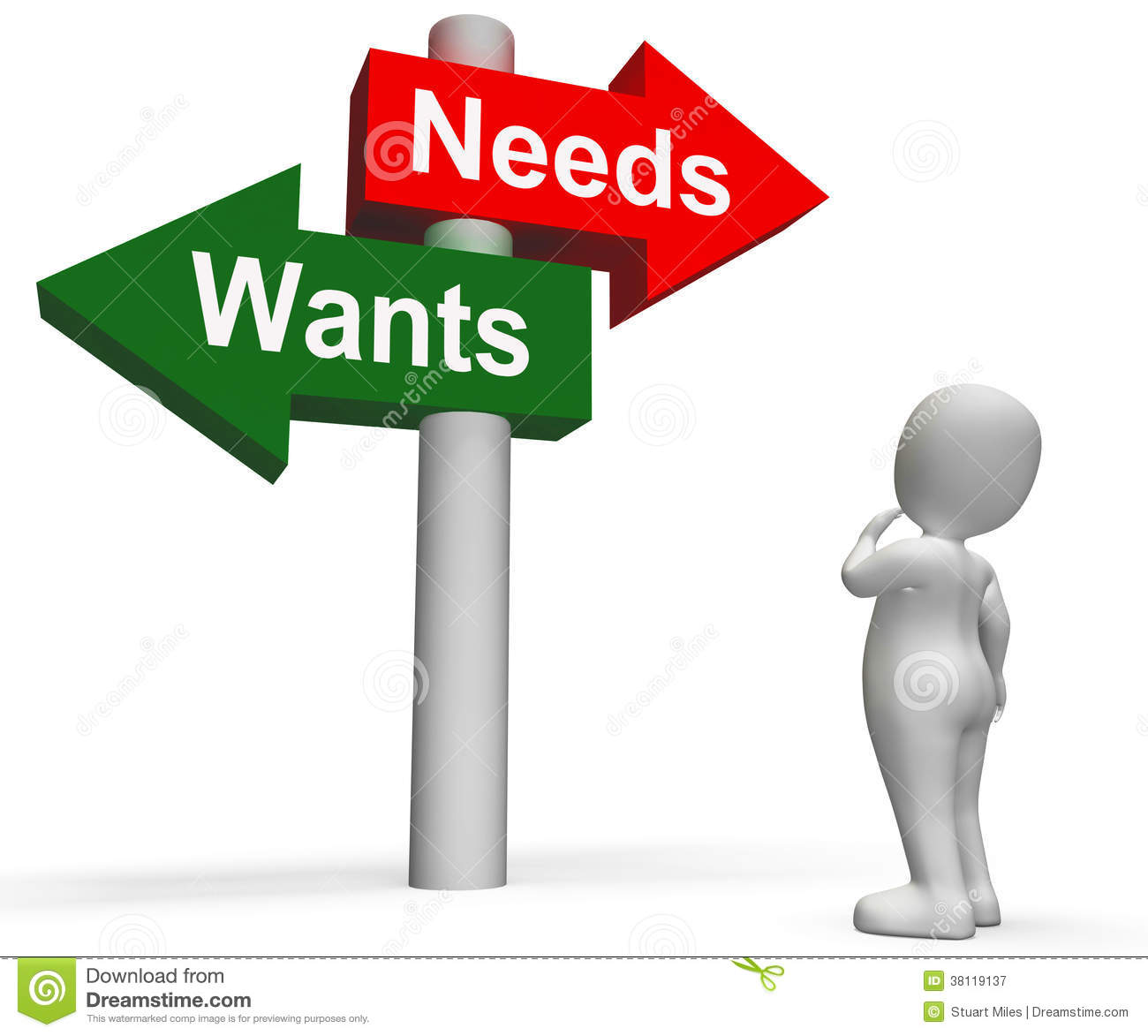 materialism wants and needs What does the bible say about a person who is materialistic  he wants us to  be chasing after something he knows will never satisfy us so we will be kept   more, all the while telling us that this will be the answer to all our needs and  dreams.