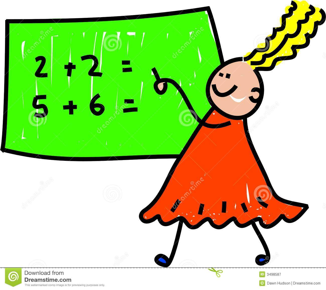 Kids Doing Math Clipart | Clipart Panda - Free Clipart Images