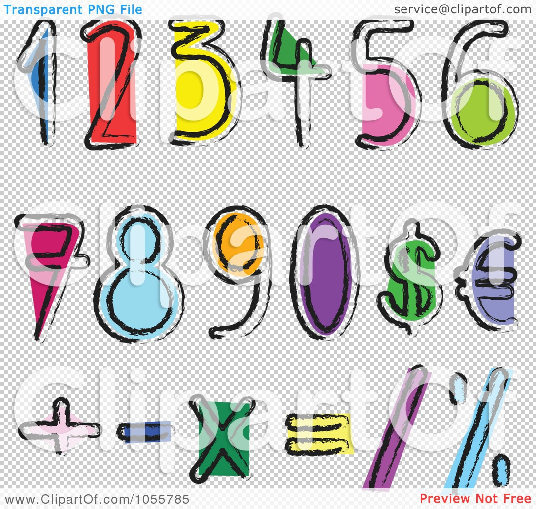 Numbers And Math Symbols Clipart Panda Free Clipart Images