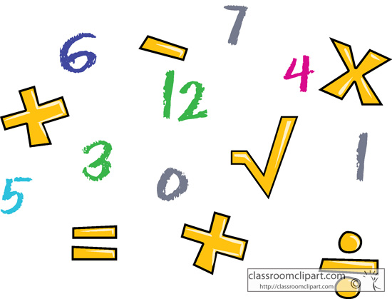 math%20symbols%20clipart