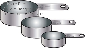 Pics For > Dry Measuring Cup Clip Art