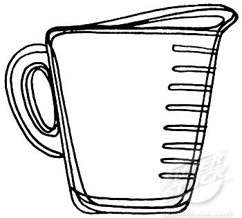 measuring cup clipart black and white clipart panda free clipart rh clipartpanda com graduated measuring cup clipart dry measuring cup clip art