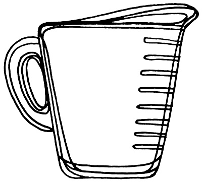 measuring cup clipart black and white clipart panda measuring cup clipart printable measuring cup clipart chart