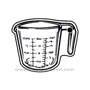 Pics For > Cartoon Measuring Cups