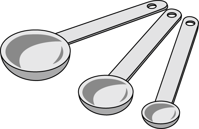 Measuring Spoons Clip Art – Cliparts