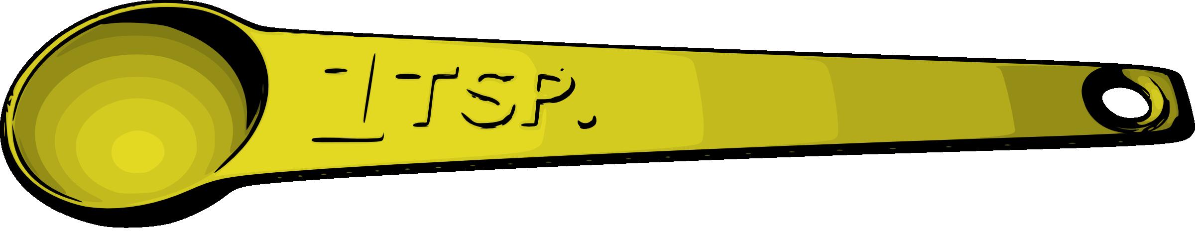 Tablespoon and Teaspoon Clip Art – Cliparts