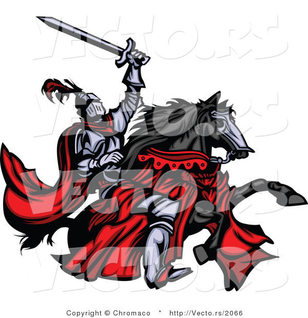 Medieval Knight On Horse Drawing Medieval%20knight%20clipart