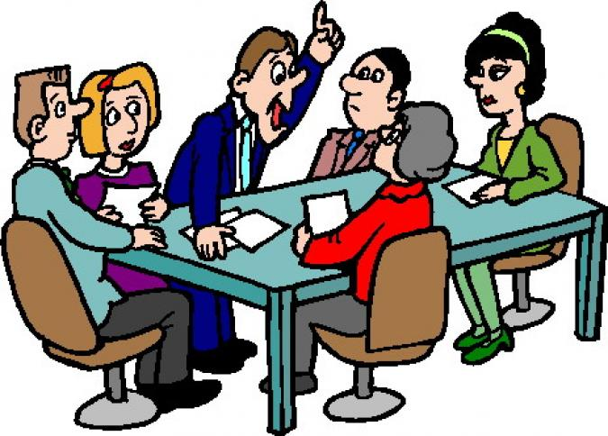 employee meeting clipart - photo #6