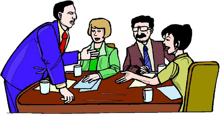 Meeting Clipart   Clipart Panda - Free Clipart Images