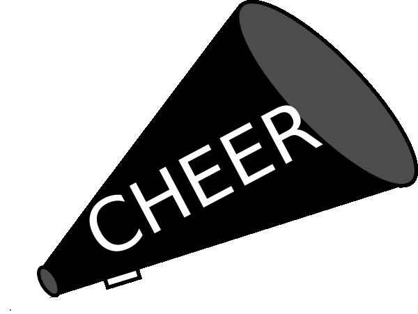 Clip Art Cheer Megaphone Clipart cheer megaphone clipart black and white panda free