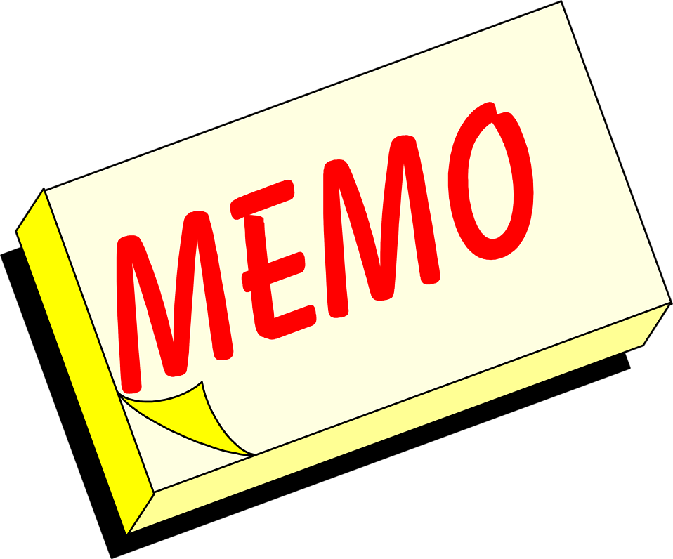 memo clipart clipart panda free clipart images