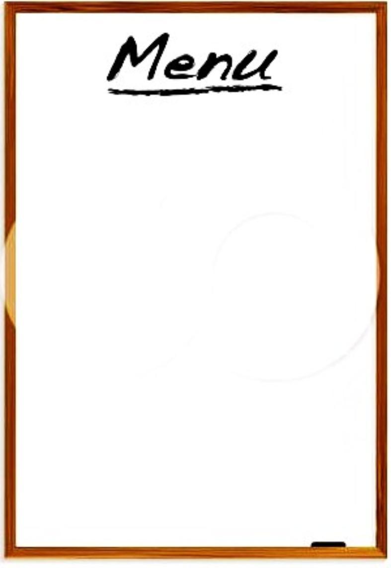 Menu 20clipart clipart panda free clipart images for Artistic cuisine menu