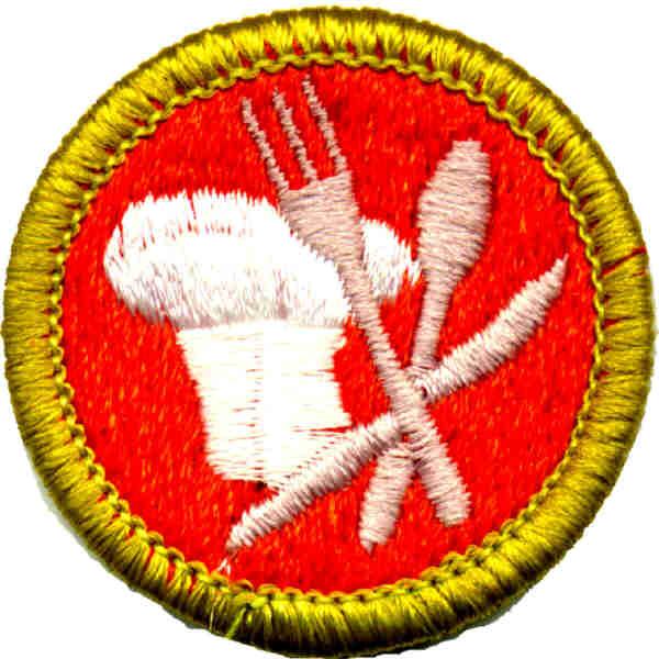 Cooking Merit Badge Worksheet - Delibertad