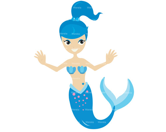 mermaid clipart free download - photo #3