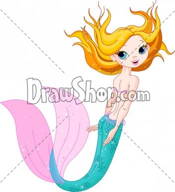 mermaid%20swimming%20clipart
