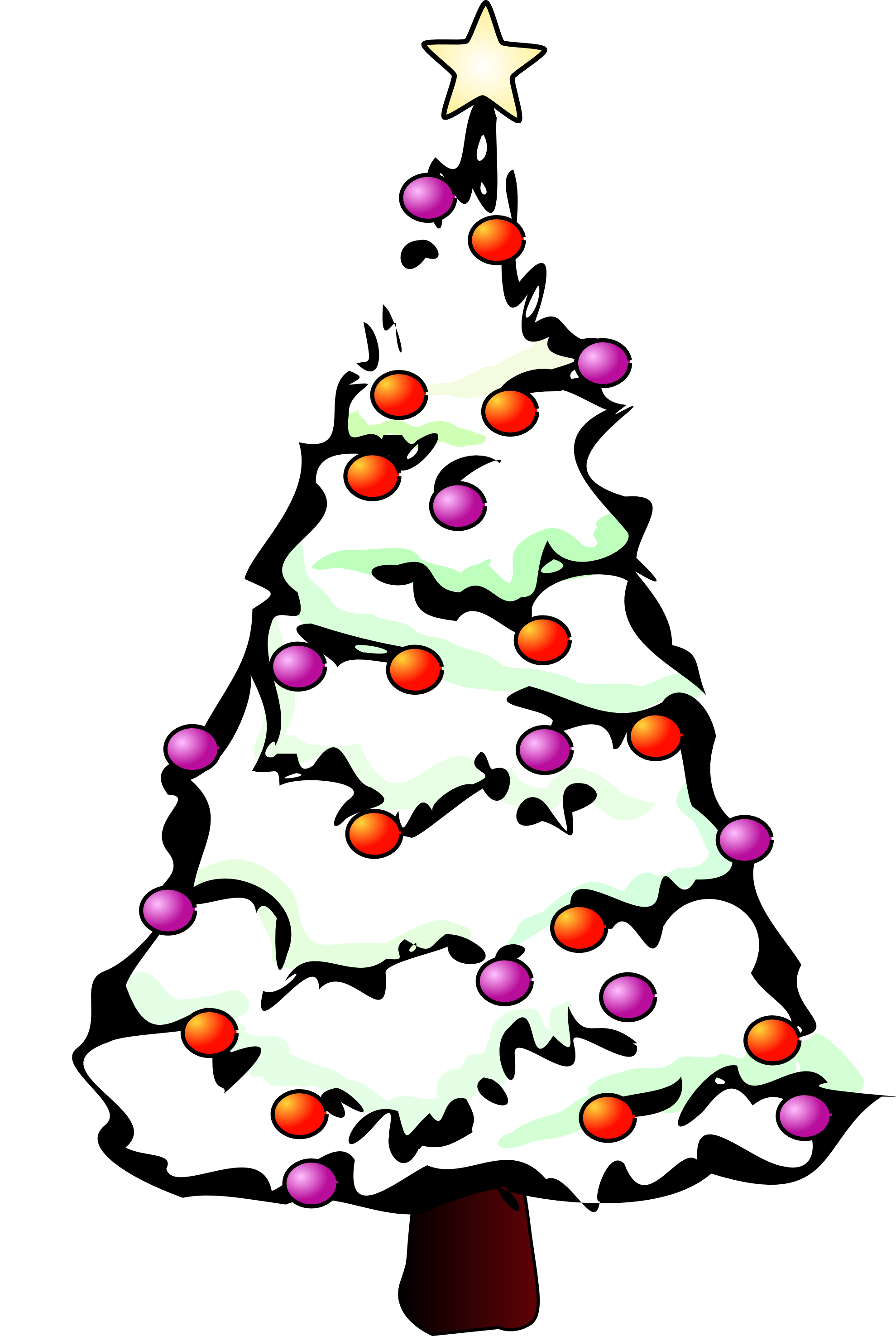 Merry Christmas Clipart Black And White | Clipart Panda - Free Clipart Images