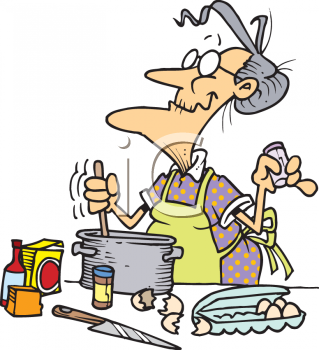 Woman Cooking Clipart | Clipart Panda - Free Clipart Images