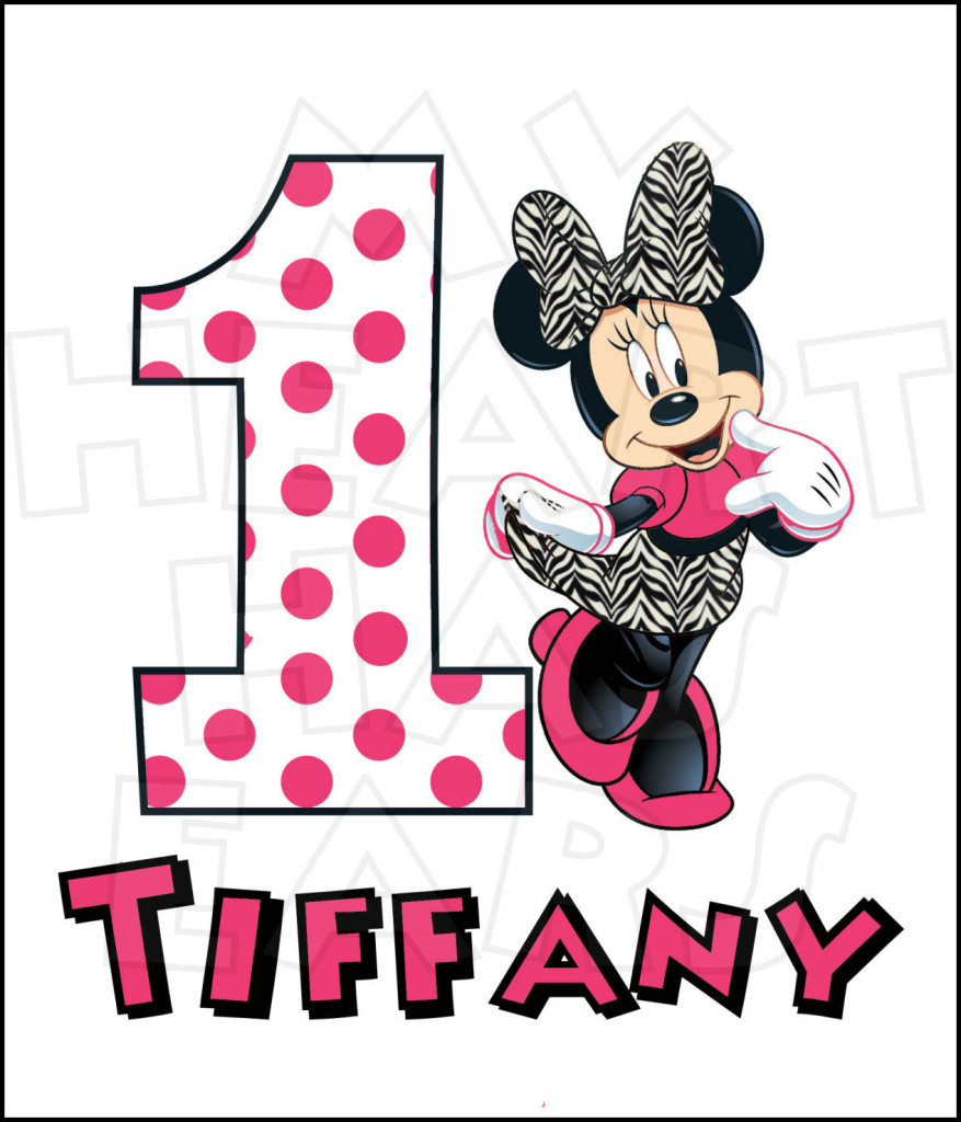 Mickey Mouse 1st Birthday Clipart | Clipart Panda - Free ...