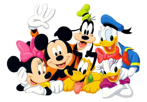Mickey Mouse And Friends Clipart | Clipart Panda - Free ...