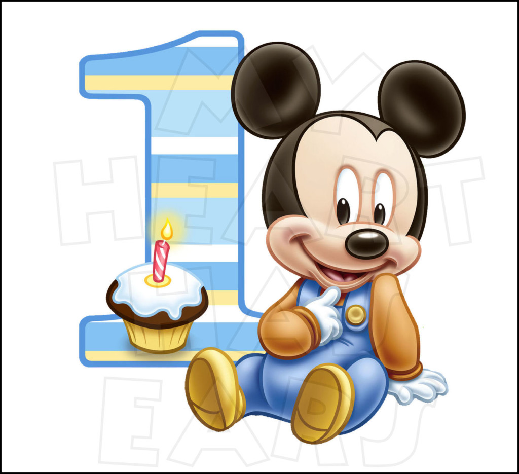 Minnie Mouse 1st Birthday Clip Art | Clipart Panda - Free ...