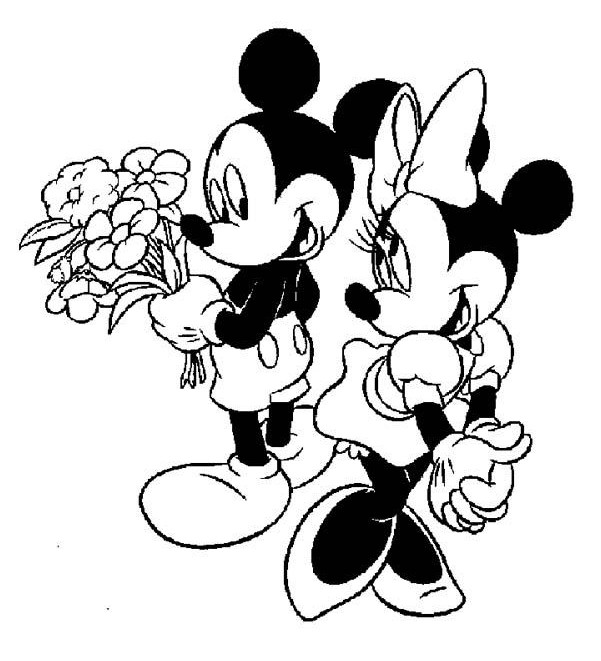 Minnie Mouse Clip Art Black And White | Clipart Panda ...
