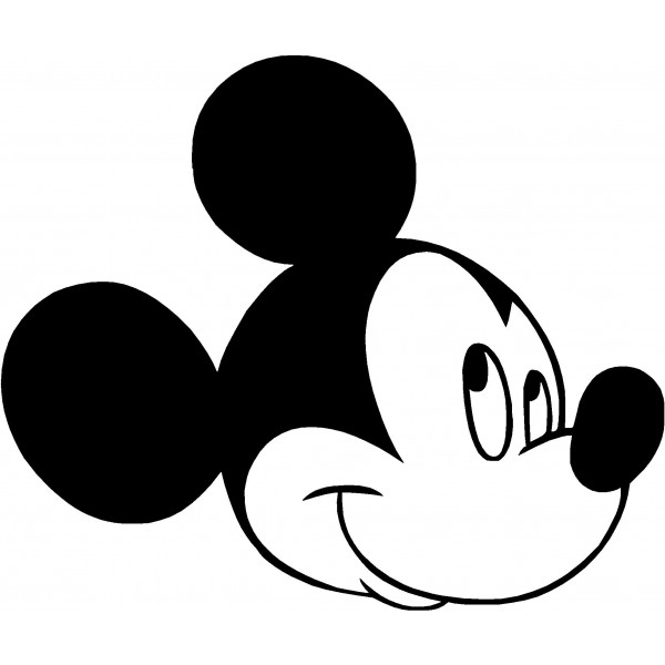 Mickey Mouse Clip Art Black and White – Cliparts
