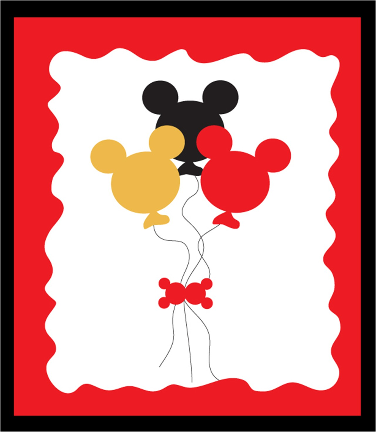 Mickey Minnie Mouse Soiree Clubhouse Birthday Wallpaper Clipart Panda