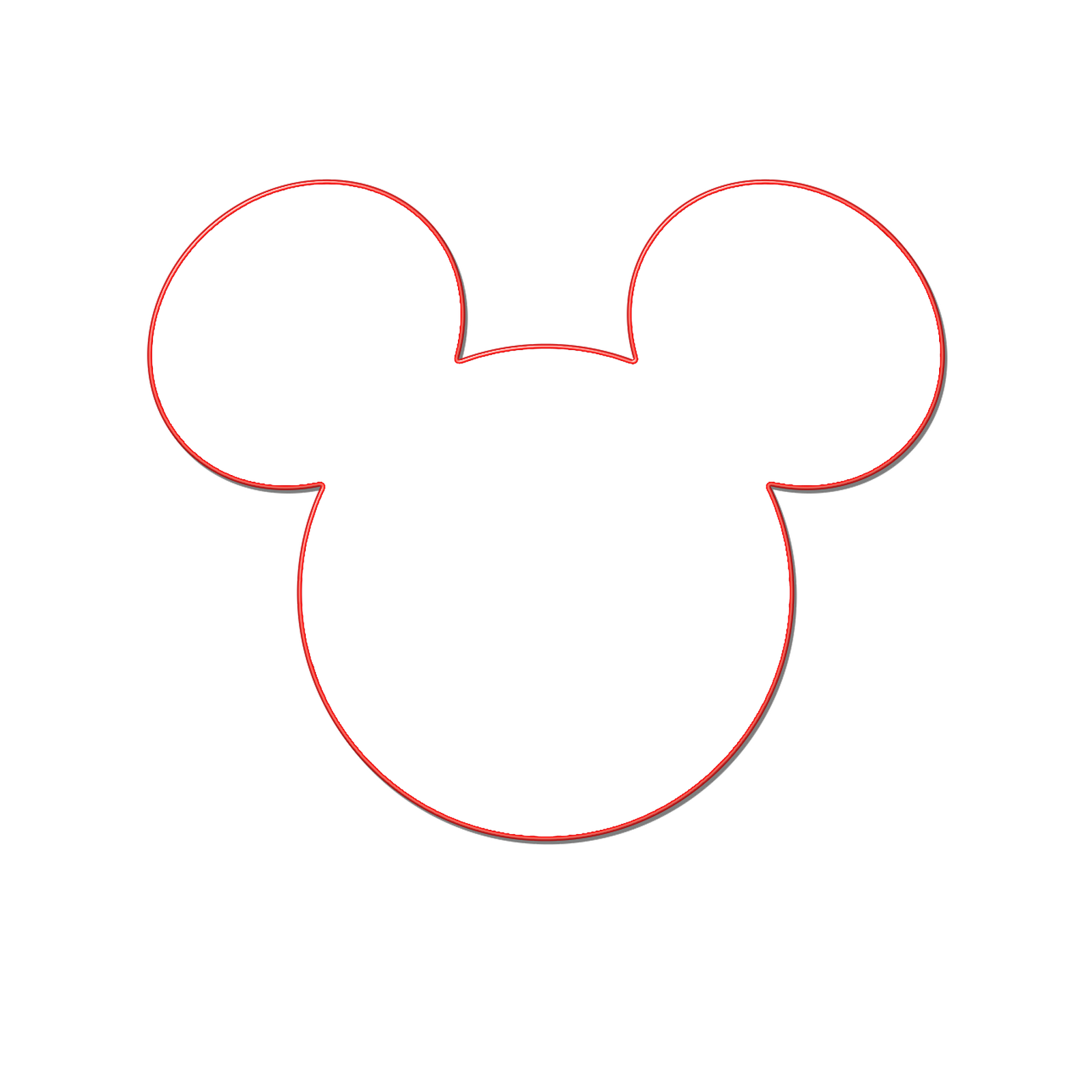 mickey mouse clubhouse black and white clipart