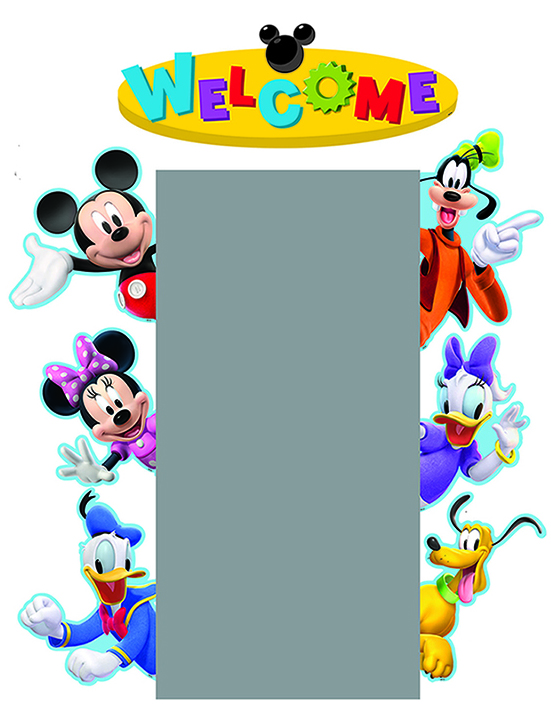 Mickey Mouse Clubhouse Characters Clipart Panda Free